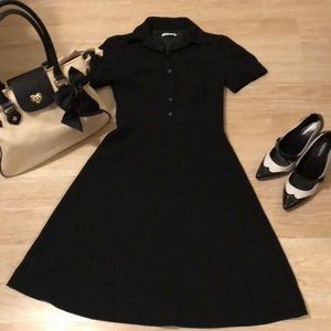 Calvin Klein's perfect little black dress small